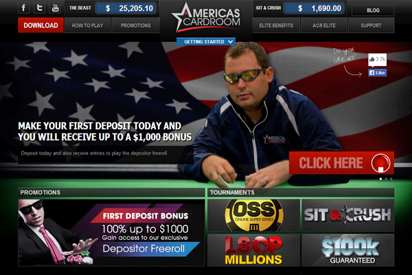 ACR Poker screen shot